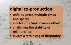 defining digital co-production